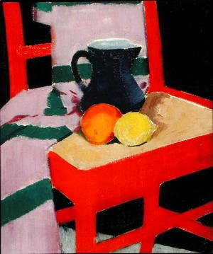The Red Chair (The Blue Jug) c.1934