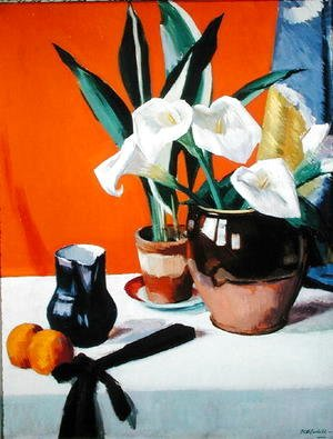 Francis Campbell Boileau Cadell - Arum Lilies