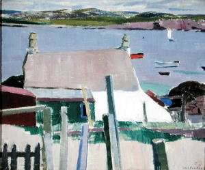 Francis Campbell Boileau Cadell - Iona, Towards Mull, c.1927