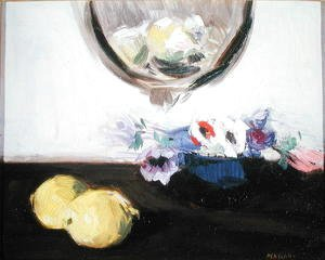 Francis Campbell Boileau Cadell - Anemones and Lemons