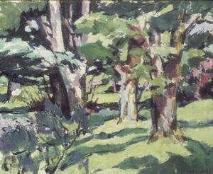 Francis Campbell Boileau Cadell - Trees at Auchinleck, Ayrshire