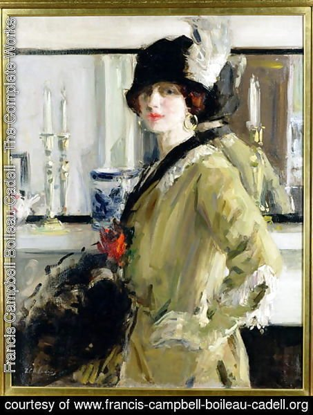 Francis Campbell Boileau Cadell - The Black Hat