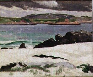 Francis Campbell Boileau Cadell - A Deserted Beach, Iona
