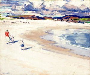 On the Shore, Iona, c.1920s