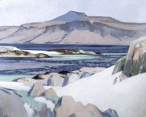 Francis Campbell Boileau Cadell - Ben More in Mull, c.1932