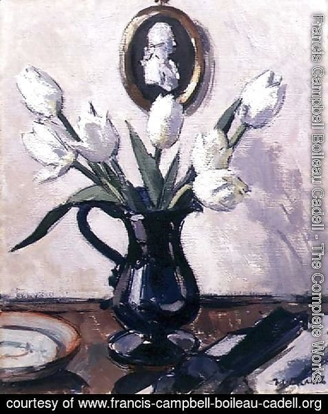 Francis Campbell Boileau Cadell - Tulips, c.1920