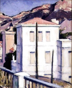 The White Villa, Cassis, 1924