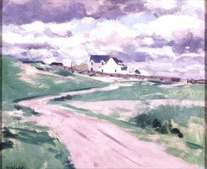 Francis Campbell Boileau Cadell - The Road to the Farm