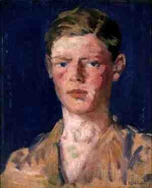 Francis Campbell Boileau Cadell - Head of a Young Man