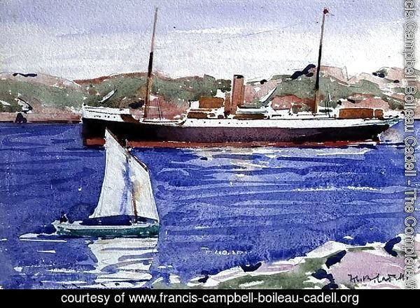 Steamer and Yacht, Iona