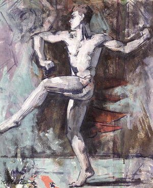 Francis Campbell Boileau Cadell - The Dancer
