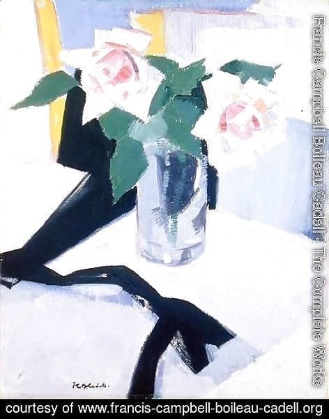 Francis Campbell Boileau Cadell - Roses at Cassis, 1921