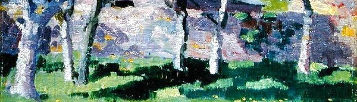 Francis Campbell Boileau Cadell - The Steading