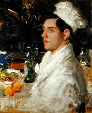 Francis Campbell Boileau Cadell - The Chef