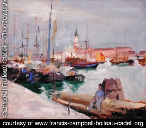 Francis Campbell Boileau Cadell - Venice, c.1910