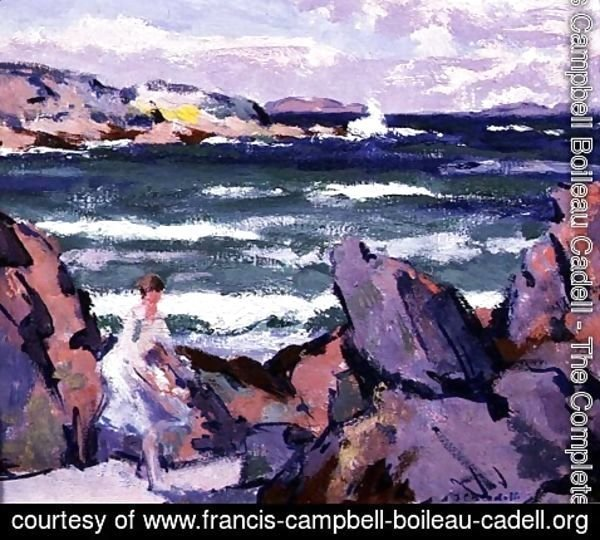 Francis Campbell Boileau Cadell - North Wind, Iona