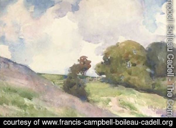 Francis Campbell Boileau Cadell - Hilly landscape