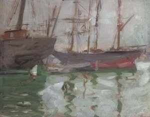 Francis Campbell Boileau Cadell - Ships, Venice