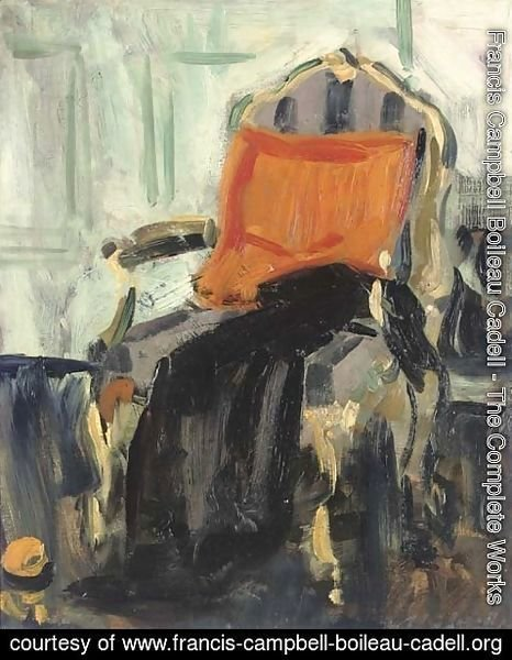 Francis Campbell Boileau Cadell - The gilt chair