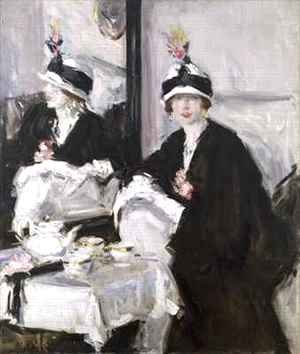 Francis Campbell Boileau Cadell - Reflections