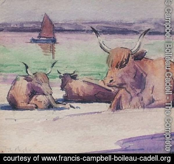 Francis Campbell Boileau Cadell - Iona 2