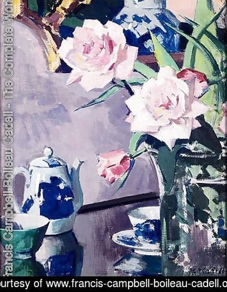 Francis Campbell Boileau Cadell - Roses 2