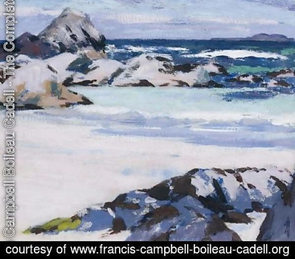 Francis Campbell Boileau Cadell - Iona, Looking Towards Lunga