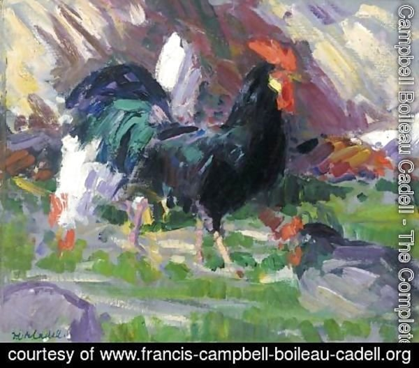 Francis Campbell Boileau Cadell - The Black Cockerel