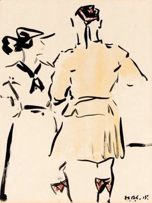 Francis Campbell Boileau Cadell - Brief Encounter