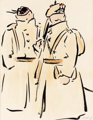 Francis Campbell Boileau Cadell - Two Jacks