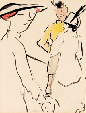 Francis Campbell Boileau Cadell - The Friend