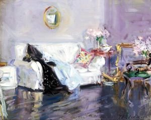 Francis Campbell Boileau Cadell - The White Sofa