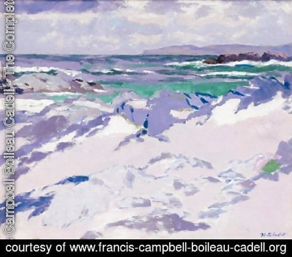 Francis Campbell Boileau Cadell - Treshnish Point, Iona