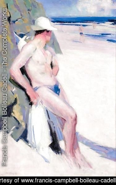 Francis Campbell Boileau Cadell - The Bather