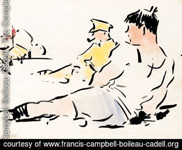 Francis Campbell Boileau Cadell - Football