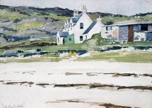 Francis Campbell Boileau Cadell - The White House, Iona