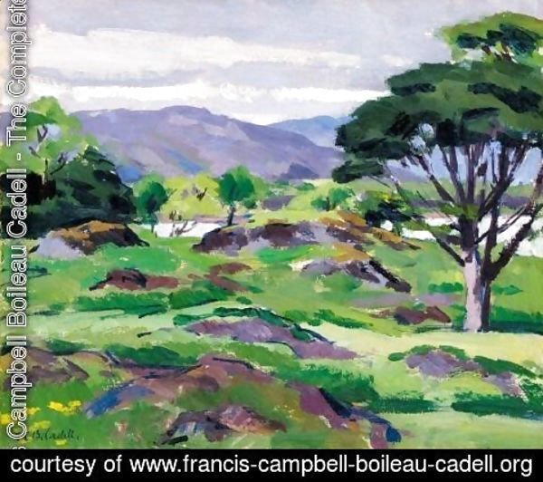 Francis Campbell Boileau Cadell - Loch Don, Mull