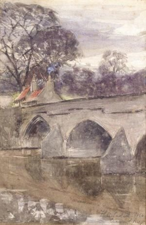Francis Campbell Boileau Cadell - Cramond Bridge Near Edinburgh