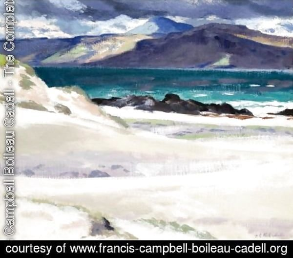 Francis Campbell Boileau Cadell - Iona And Ben More