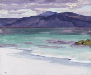 Francis Campbell Boileau Cadell - Iona, Looking Towards The Isle Of Mull And Ben More