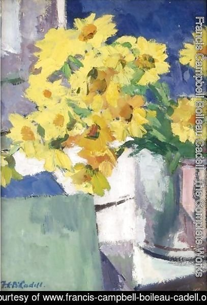 Francis Campbell Boileau Cadell - Corn Marigolds
