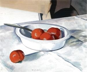 Francis Campbell Boileau Cadell - Still Life (Tomatoes)