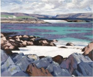 Francis Campbell Boileau Cadell - The North End Of Iona