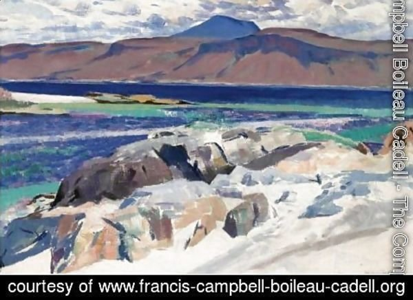 Francis Campbell Boileau Cadell - Ben More From Iona