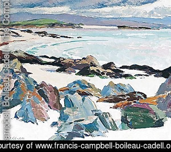 Francis Campbell Boileau Cadell - Iona. East Bay - The Little Island And Mull