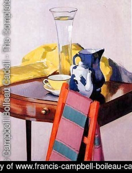 Francis Campbell Boileau Cadell The Complete Works The Vase Of