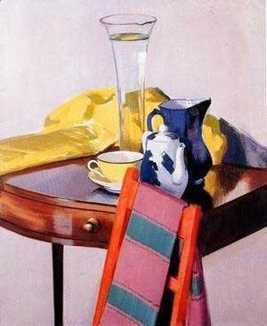 Francis Campbell Boileau Cadell - The Vase of Water